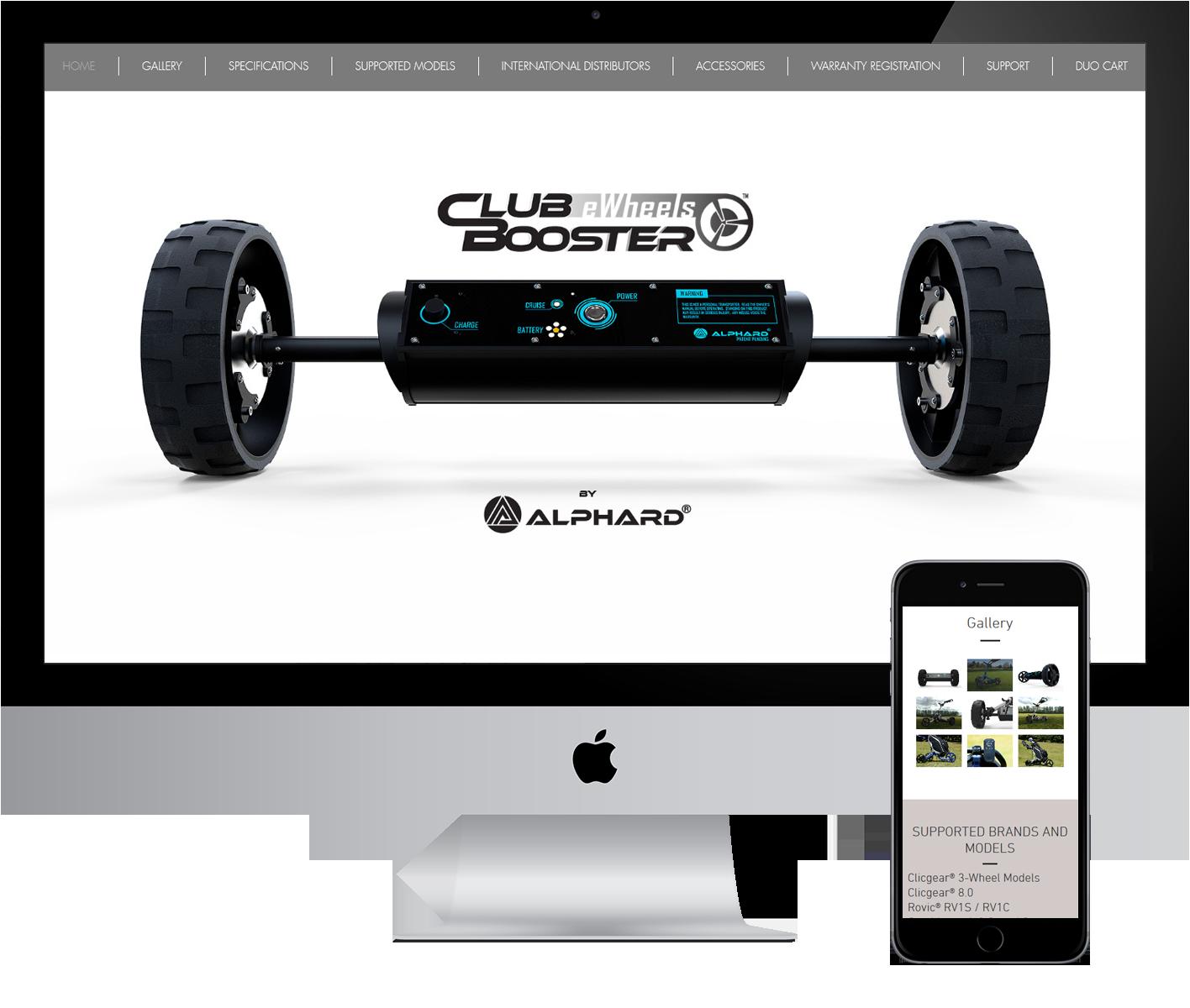 Alphard Golf desktop view Designed by Alcinder Tech