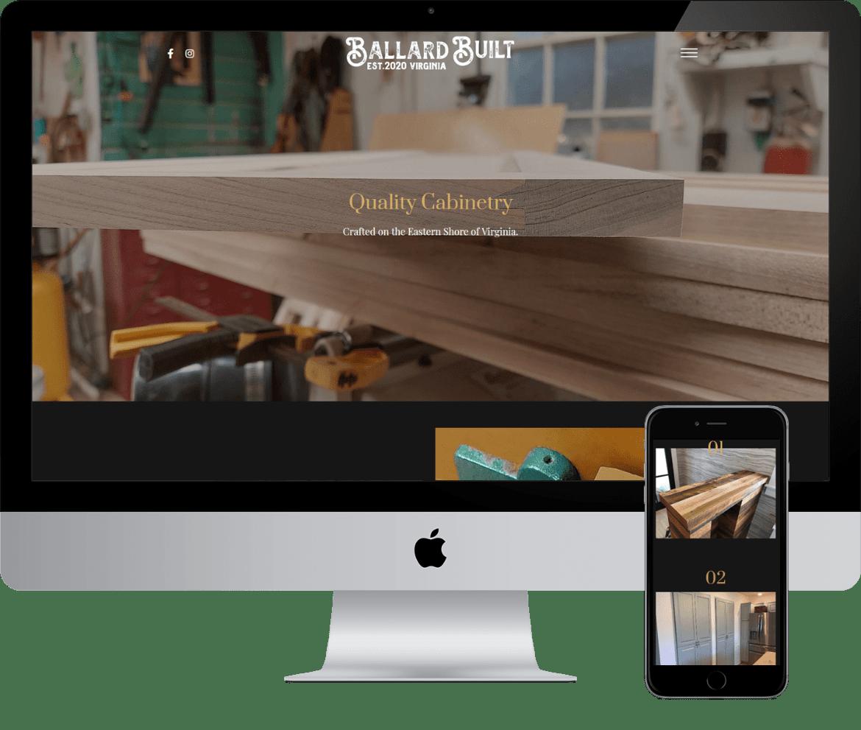 alcinder tech ballardbuilt responsive webdesign development
