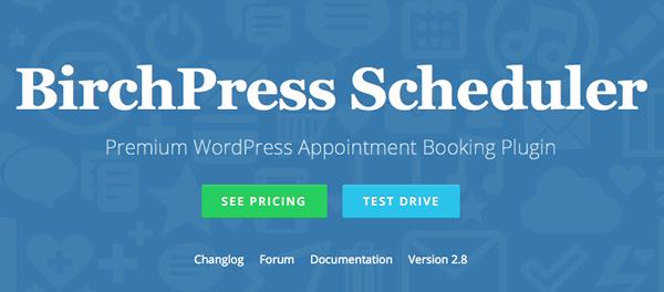 BirchPress Scheduler Booking Plugins for WordPress